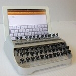 Keyboard prototype turns iPad into a typewriter... sort of