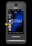 Samsung Delve - a TouchWiz phone for Alltel