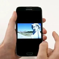 Samsung Galaxy Note II gets first official hands-on video