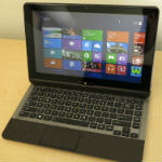 Toshiba follows trend and shows off a Windows 8 tablet hybrid