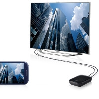 Samsung AllShare Cast Dongle media streamer hits retailers, makes your dumb TV smart