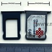 iPhone 5 Nano SIM card photographed in Europe