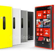 Oh, the colors: a few more pictures of the Lumia 920 and 820 leak before the Nokia event