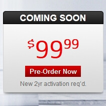 Motorola DROID RAZR M pre-order page is now up on Verizon's site