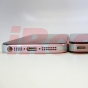 Fully assembled chassis said to be of the new iPhone leaks, flaunts slender profile next to the 4S