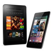 Amazon Kindle Fire HD vs Google Nexus 7: who's who in the Android tablet market