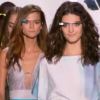 Project Glass goes on the catwalk showing it can be both pretty and comfortable, not just futuristic