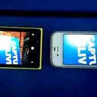 Nokia Lumia 920 vs iPhone 4S video image stabilization comparison