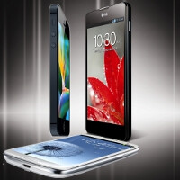 Apple iPhone 5 vs LG Optimus G vs Samsung Galaxy S III specs comparison