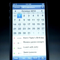 Apple's iOS apps and some 3rd party ones redesigned for the iPhone 5 screen, the rest will have borders