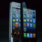 The iPhone 5 and Tim Cook