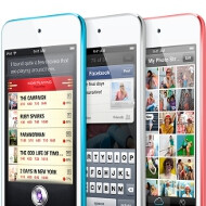 The new iPod touch has the iPhone 5 screen and a 5MP iSight camera in a 6.1mm thin body