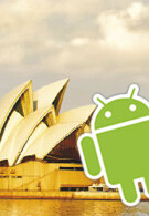 Android taking a trip to Australia