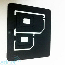 Here is how nano SIM adaptors look like