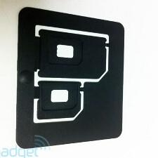 Here is how nano SIM adaptors look like