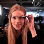Google Glass video from the runway