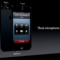 Apple iPhone 5 has three microphones and HD voice support, what's in it for you