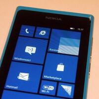 Nokia Lumia 800 seen running Windows Phone 7.8