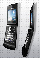 Wahoo - Nokia with a half-QWERTY keyboard
