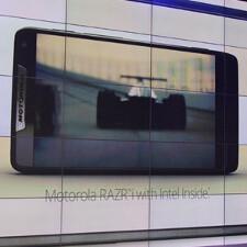 Motorola RAZR i unveiled: first phone with 2GHz processor, Intel inside