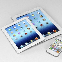Apple iPad mini enters full-scale production, new mockup shows the tablet off
