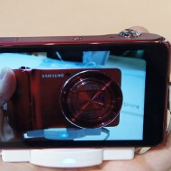 The Samsung Galaxy Camera makes a splash in orange and pink, tries to match the Jelly Bean inside