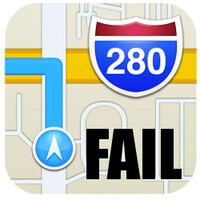 10 fails found in Apple Maps