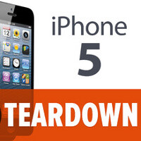 Apple iPhone 5 torn down: easy to repair, A6 chip and internals exposed