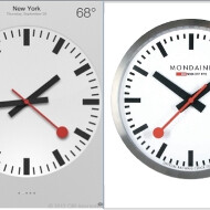 Swiss Railways to burn Apple with legal complaint on a patented clock design