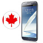 Samsung GALAXY Note II confirmed for Canadian launch