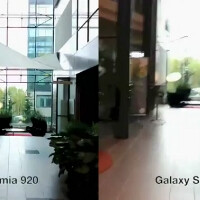 Nokia Lumia 920 vs Samsung Galaxy S III vs HTC One X image stabilization test pops up