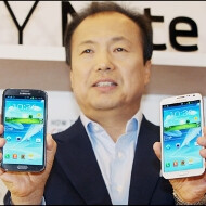 Samsung's JK Shin launches the Note II in Korea, says he's meeting with Google today to fend off Apple