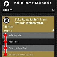 Nokia's mass transit and walking navigation arrives to iOS and Android, priced $3.99 by Garmin