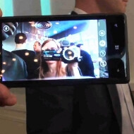 Nokia pimps its rear cameras, HTC the front ones: watch a demo of the HTC 8X wide-angle video chat cam