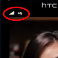 Official HTC 8X promo video shows the Windows Phone carrying a 4G network icon