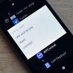 Windows Phone linking apps to Share option
