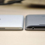 See photos comparing the iPad Mini to the Nexus 7
