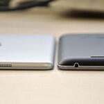 See photos comparing the iPad Mini to the Nexus 7
