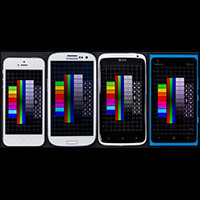 Display Comparison: Apple iPhone 5 vs Samsung Galaxy S III vs HTC One X vs Nokia Lumia 900