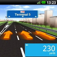 TomTom does the Robot: the new Android app has advanced lane guidance, historical traffic and IQ Route