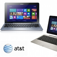 AT&T scores the Asus VivoTab RT with LTE and the Samsung ATIV Smart PC Windows 8 tablet