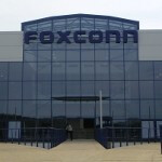 Foxconn workers go on strike to protest working conditions while assembling the Apple iPhone 5