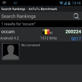 Motorola Occam and Manta shown running Android 4.2 with benchmarks