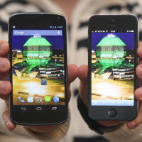 LG Nexus compared to iPhone 5