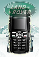 Land Rover comes as a mobile phone