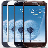 Black & Brown Samsung Galaxy S III now available through Verizon