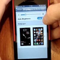 How to reset the auto brightness function on your iPhone 5 from the new custom ranges