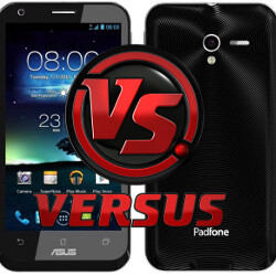 Asus Padfone 2 vs LG Optimus G