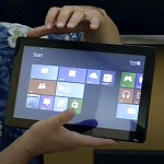 Video: Windows 8 and Microsoft OneNote 2013 in action on a tablet