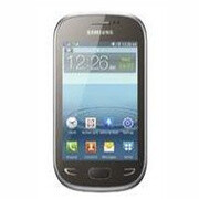 This Samsung Star Deluxe handset with a 3.5-inch touchscreen is actually a feature phone